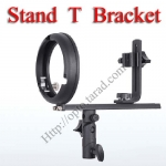Stand T DSLR speedlite Flash Bracket Light Stand