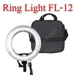 FL-12 Fluorescent Ring light 5500k with dimmer for Video ไฟต่อเนื่อง ถ่ายรูป ถ่ายวีดีโอ ไฟแต่งหน้า