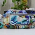 Kipling Alwyn Oceanic Day Dream กระเป๋าสะพายใบเล็ก กระทัดรัด น่ารัก ขนาด L9 x H 4.75 W 1.75 นิ้ว