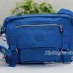 Kipling Gracy French Blue กระเป๋าสะพายข้าง ทรงเก๋ เหมาะกับสาวสมัยใหม่ ขนาด L11.75 x H 8.25 x D 4.75 นิ้ว