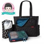 กระเป๋าคุณแม่ รุ่น Forma Pack & go Tote สีดำ