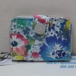 Kipling New Money Indigo Bloom เป็นกระเป๋าสตางค์ ขนาดกระชับมือ ขนาด 4 x 5.25 x 1 นิ้ว
