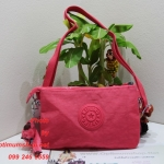 Kipling Creativity X Pink Silver C ขนาด L23 x H 15.5 x D 2 cm