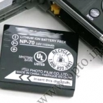 OEM Battery NP-70 for Fuji FinePix F10 F20 F40 F45 F47 F40fd F45fd F47fd แบตเตอรี่กล้องฟูจิ