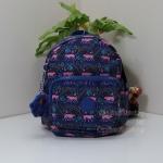 Kipling Mini Backpack MOnkey Spring กระเป๋าสะพายหลังขนาดเล็ก เลือกเป็นแบบหิ้ว หรือแบบสะพายได้ ขนาด 17 W x 21.5 D x 19 H cm Small