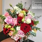 ช่อดอกไม้เปลือยก้าน สไตล์อังกฤษ Hot Love (L)