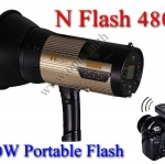 Wireless Portable Flash Studio N Flash 480A