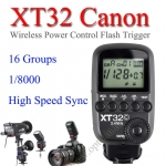 XT-32 XT32c Canon Wireless 2.4Ghz Control For Flash Godox QS QT DE GS Series AD360 AD600
