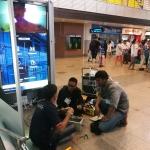 งานเข้าหัวสายFTTX สนามบินดอนเมือง