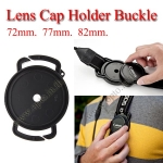 72mm 77mm 82mm Lens Cap Holder Buckle for Nikon Canon