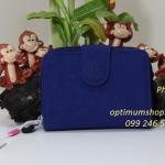 Kipling New Money Flash Blue เป็นกระเป๋าสตางค์ ขนาดกระชับมือ ขนาด 10 L x 18.5 H x 3.5 W cm