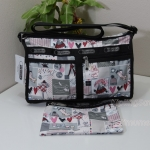 Lesportsac Lesportsac Shoulder Bag ลาย Warm Wish กระเป๋า สำหรับสะพาย
