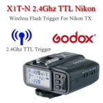 Godox X1T-N Auto TTL 2.4Ghz Wireless Trigger TX for Nikon Flash speedlite ตัวส่งแฟลชไร้สายแบบออโต้