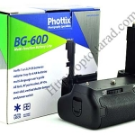 Phottix BP-60D Grip for Canon 60D BG-E9 NEW