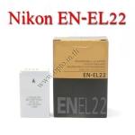 OEM Battery for Nikon EN-EL22 Nikon1 J4 S2 แบตเตอรี่กล้องนิคอน