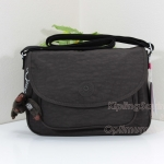 Kipling Sunita Chester Brown กระเป๋าสะพายขนาดกลาง ขนาด 31 L x 21 H x 14 W cm