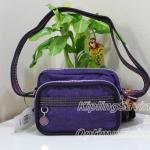 Kipling Liddie Berry Purple สะพายใบเล็กน่ารัก ขนาด 8.25 x6.25 x 2.25 นิ้ว