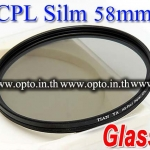 Pro Slim Circular Polarizing C-PL CPL Slim 58mm.