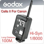 Godox Cells II Wireless Speedlite Transceiver Trigger High Speed Sync