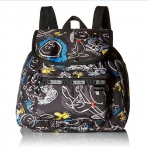 Lesportsac Edie Small Backpack Chalk Boards กระเป๋าสะพายหลังขนาดเล็ก จากคอลเล็กชั่น Peanut Snoopy ขนาด11 x 10 x 5 นิ้ว