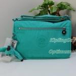 Kipling Callie Breezy Turq กระเป๋าสะพายข้าง ภายในแบ่งสัดส่วน น่าใช้มาก ขนาด L10.5 x H7.5 x D 4.38 นิ้ว