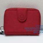 Kipling New Money Cherry เป็นกระเป๋าสตางค์ ขนาดกระชับมือ ขนาด 4 x 5.25 x 1 นิ้ว