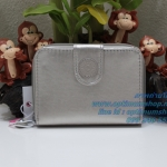 Kipling New Money Silver Beige N เป็นกระเป๋าสตางค์ ขนาดกระชับมือ ขนาด 10 L x 18.5 H x 3.5 W cm