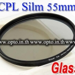 Pro Slim Circular Polarizing C-PL CPL Slim 55mm.