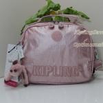 Kipling Jill Icy Rose ผ้าเคลือบ ปักอักษร Kipling เป็นเอกลักษณ์ สายสะพายเล่นสี น่ารักมากๆ ขนาด 9.25 x 8.25 x 4.5 นิ้ว