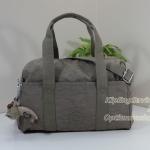 Kipling Practicool หรือ Practi-cool Warm Grey กระเป๋าสะพายข้าง ทรงสวย ขนาด 38.5 W x 21 H x 17.5 D cm Medium