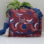 Kipling New Kichirou Banana Pr Lunchbag With Trolley Sleeve กระเป๋าใส่อาหาร หรือใช้เป็นกระเป๋าสะพายก็ได้ ขนาด 23 L x 20.5 H x 12.5 W cm