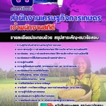แนวข้อสอบเจ้าพนักงานสถิติ สำนักงานเศรษฐกิจการเกษตร อัพเดทใหม่ 2560