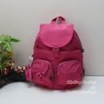 Kipling Firefly LN Vibrant Pink กระเป๋าสะพายขนาดกลาง ขนาด L 10.25 x H 13 x D 7.25 นิ้ว