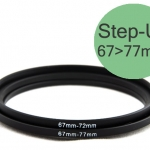 Step Up Filter Ring Adapter 67 to 77 (67mm-77mm)