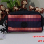 Kipling Roozie Stripe Pr Bg ขนาด 17 L x 9 H x 7 W cm medium