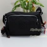 Kipling Reth S Black กระเป๋าสะพาย รุ่นที่เล็กลงมาหน่อยจากรุ่น Reth ขนาด 23 L x 15.5 H x 13.5 W cm