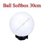 GL30 Glove Light Ball Diffuser Dome Softbox Studio Bowens Mount 30cm โคมบอลกลมสำหรับไฟสตูดิโอ