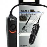 Pixel RC-201 สายลั่นชัตเตอร์ รีโมท Wired Remote N8 For Nikon D700/D300s/D200/D1/D800