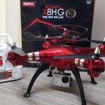 โดรนติดกล้อง Syma X8HG สีแดง พร้อม แถม actioncam ความละเอียด 8 ล้านพิกเซล ในกล่อง