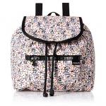 Lesportsac Edie Small Backpack Happiness Dots กระเป๋าสะพายหลังขนาดเล็ก จากคอลเล็กชั่น Peanut Snoopy ขนาด11 x 10 x 5 นิ้ว