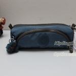 Kipling Cute Blue Jean C กระเป๋าใส่ดินสอ หรือ เครื่องสำอาง แปรงแตงหน้า ขนาด 22 L x 7H x 6.5W cm