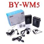 BY-WM5 Boya Wireless Microphone For DSLR Camera DV Camcorder ไมค์โครโฟนไร้สายสำหรับกล้องDSLR