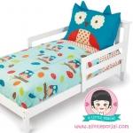 ชุดผ้าปูที่นอน 4 ชิ้น ลายนกฮูก