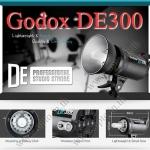 Godox DE300 DE-300 Studio Strobe Flash 300W แฟลชสตูดิโอ