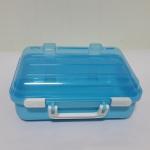 กล่องกระเป๋าเดินทาง มีหูหิ้ว สีฟ้า (B002)