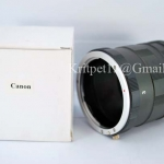 3 Ring Macro Extension Tube for Canon Len