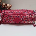 Kipling Cute Clover Pr กระเป๋าใส่ดินสอ หรือ เครื่องสำอาง แปรงแตงหน้า ขนาด 22 L x 7H x 6.5W cm