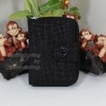Kipling New Money Black Croc เป็นกระเป๋าสตางค์ ขนาดกระชับมือ ขนาด 4 x 5.25 x 1 นิ้ว