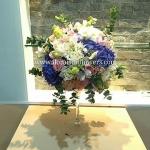 แจกันดอกไม้สด หรูหรา สไตล์อังกฤษ