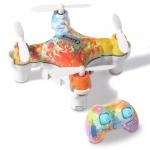 โดรนราคาถูก Cheerson CX-10D Drone โดรนจิ๋วที่มาพร้อมระบบล๊อกความสูง แถมฟรีอะไหล่ใบพัด (สีรุ้งสาดสี)